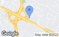 Map of Fairfax, VA
