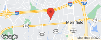 Map of 2812 Old Lee Hwy in Fairfax