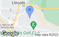 Map of Lincoln, CA