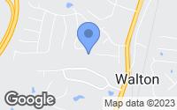 Map of Walton, KY