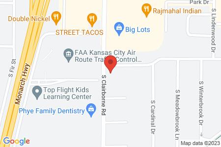static image of302 South Clairborne Road, Suite B, Olathe, Kansas
