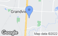 Map of Grandview, MO