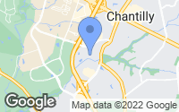 Map of Chantilly, VA