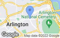 Map of Arlington, VA