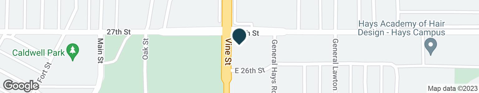 Google Map of2600 VINE ST