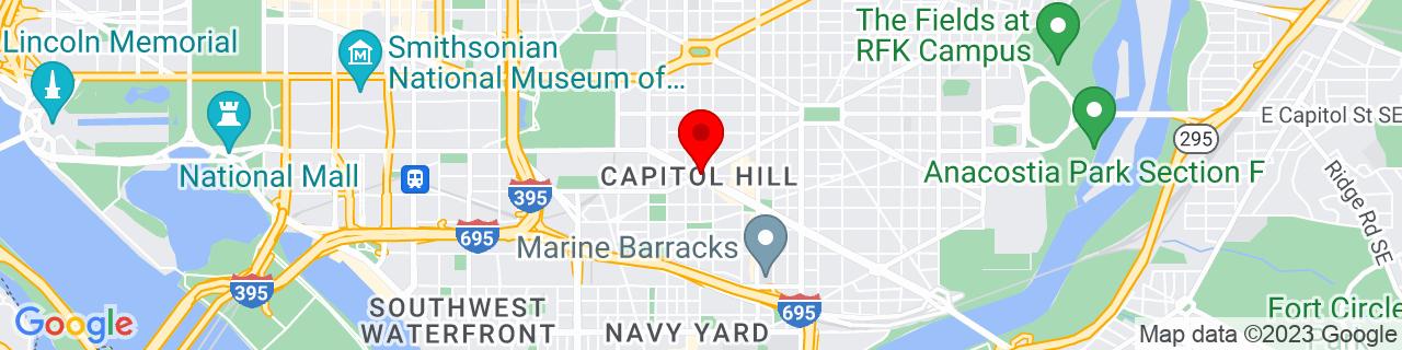 Google Map of 38.8861059, -76.99936269999999