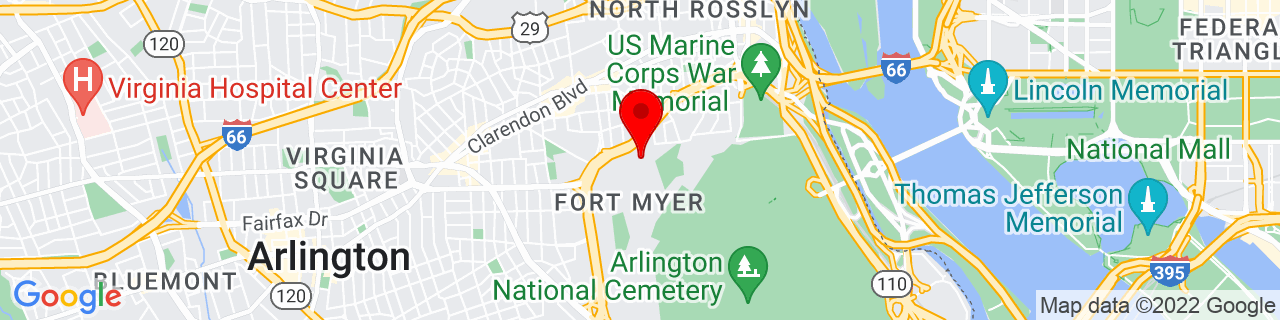 Google Map of 38.8864025, -77.0800033