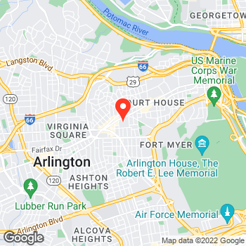 Map of Ann Taylor at 2800 Claredon Blvd, Arlington, VA 22201