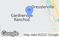 Map of Gardnerville, NV