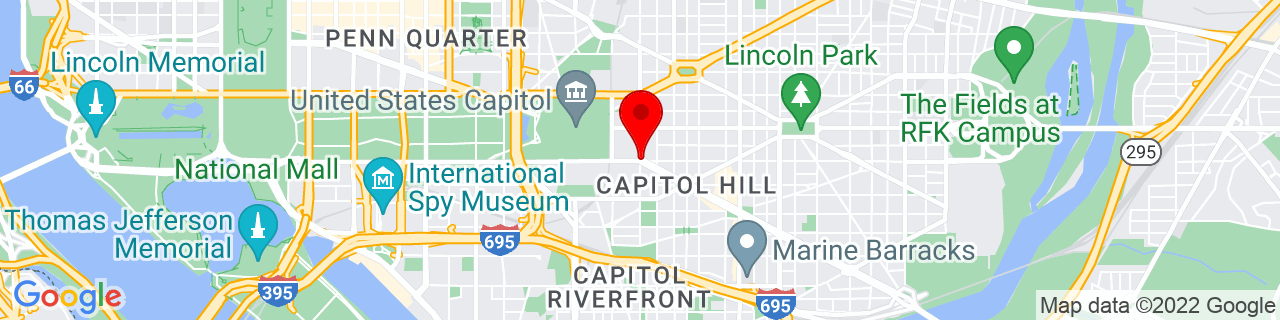 Google Map of 38.8876654, -77.00346909999999