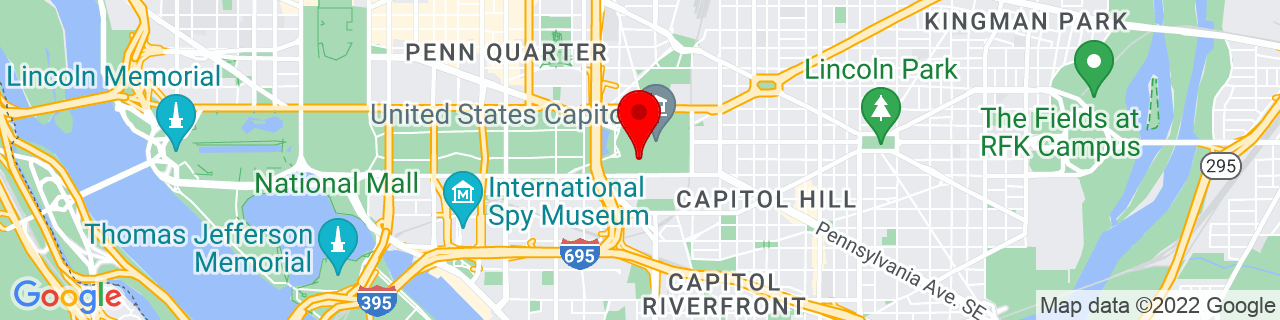 Google Map of 38.88862777777778, -77.0104361111111
