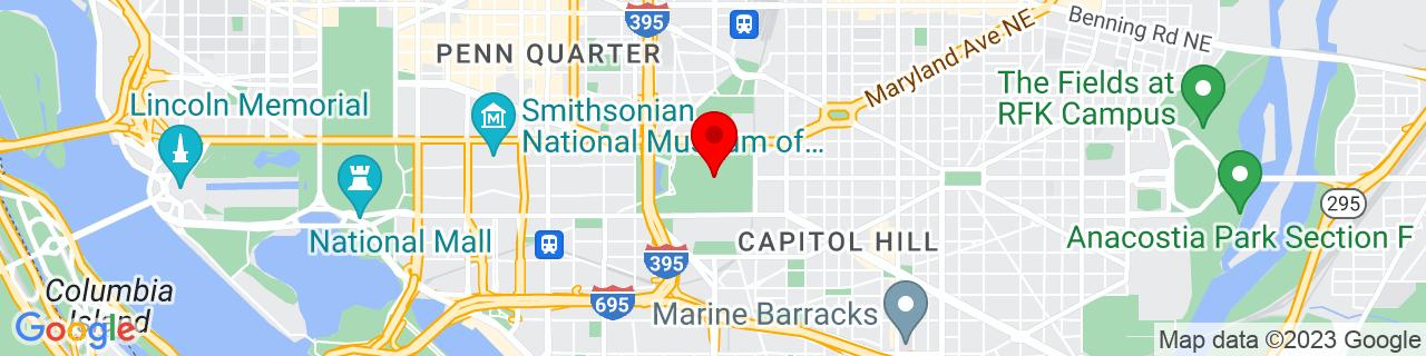 Google Map of 38.88983888888889, -77.00912777777778