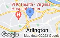 Map of Arlington, VA