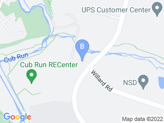 Map of Pender Pet Retreat Dog Boarding options in Chantilly | Boarding