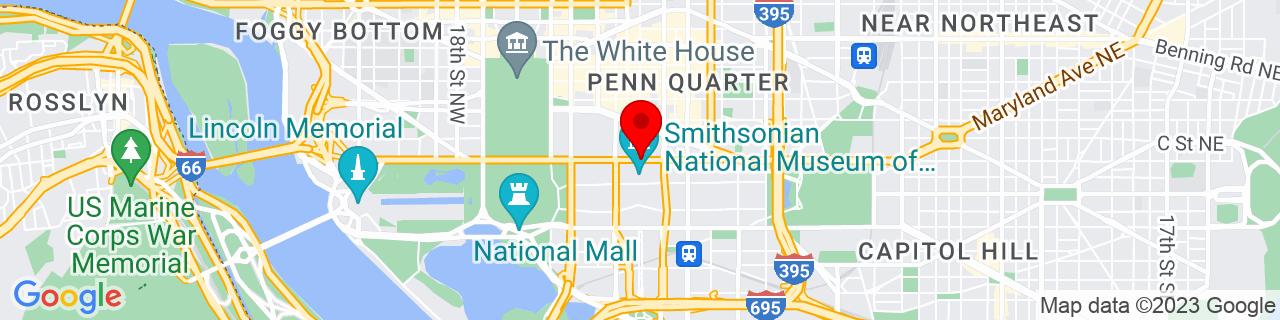 Google Map of 38.89210370000001, -77.02596129999999