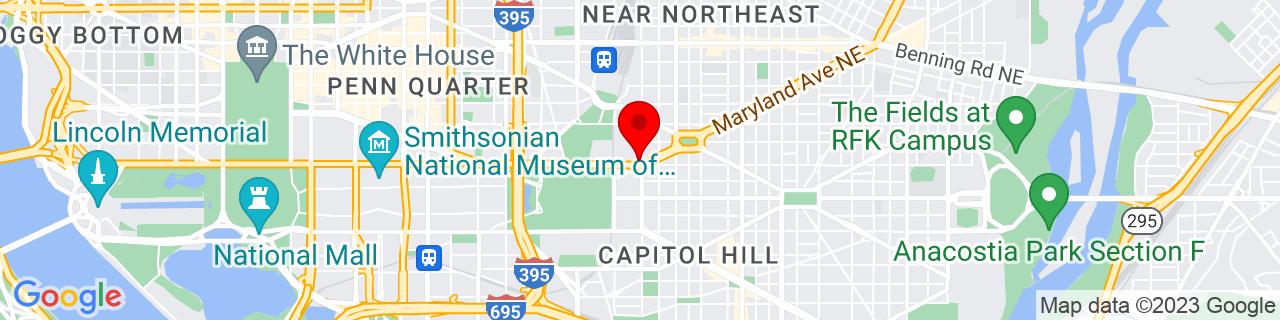 Google Map of 38.8923156, -77.0037675