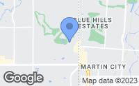 Map of Leawood, KS
