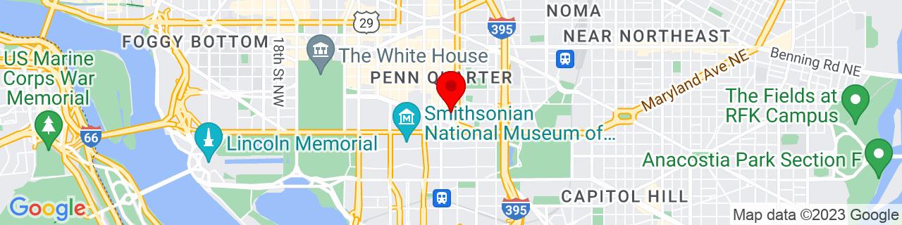 Google Map of 38.893909, -77.0206693