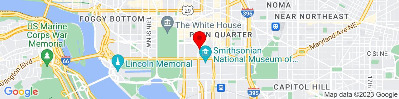 Google Map of 38.8940603, -77.02772709999999