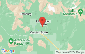Map of Mt Crested Butte