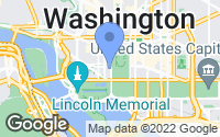 Map of Washington, DC