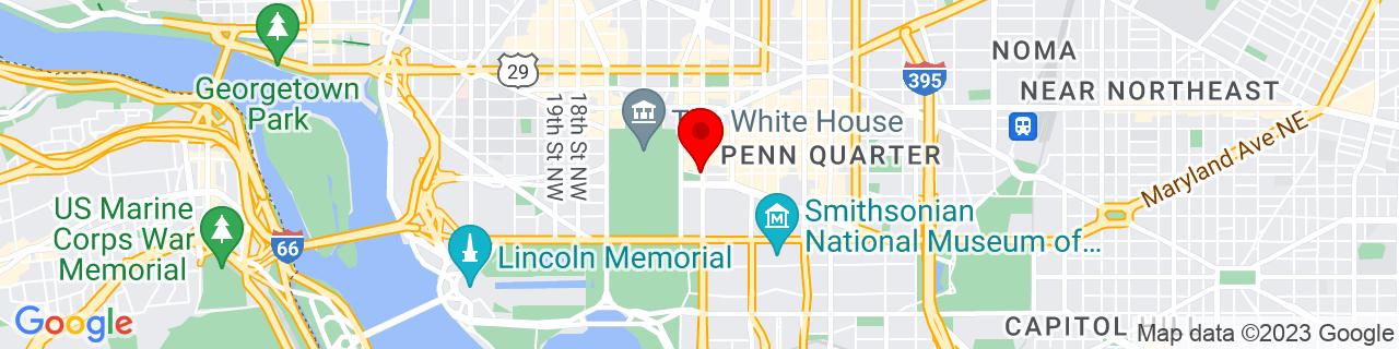 Google Map of 38.8961572, -77.0321027