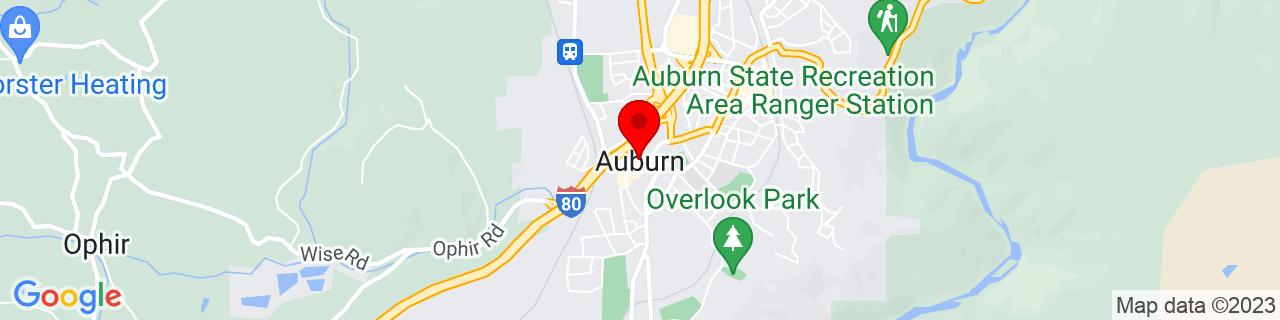 Google Map of 38.89666666666667, -121.07694444444444