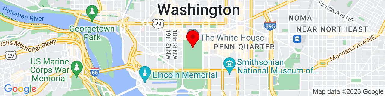 Google Map of 38.8969993591309, -77.0365982055664