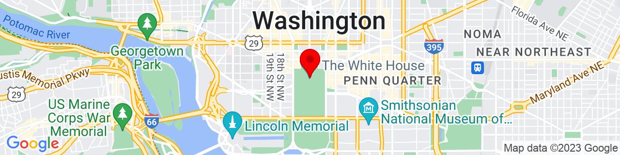 Google Map of 38.89766111111111, -77.03649722222222