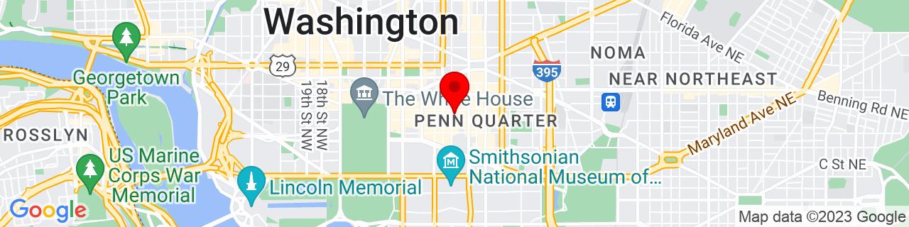 Google Map of 38.8979337, -77.0256493