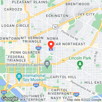 Map of Ann Taylor at 50 Massachusetts Ave NE, Washington, DC 20002