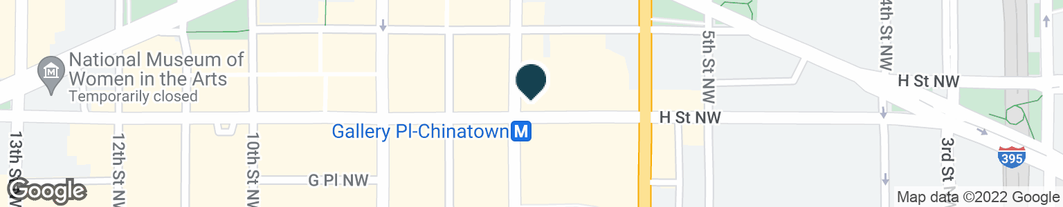 Google Map of801 7TH ST NW