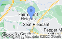 Map of Fairmount Heights, MD