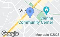 Map of Vienna, VA