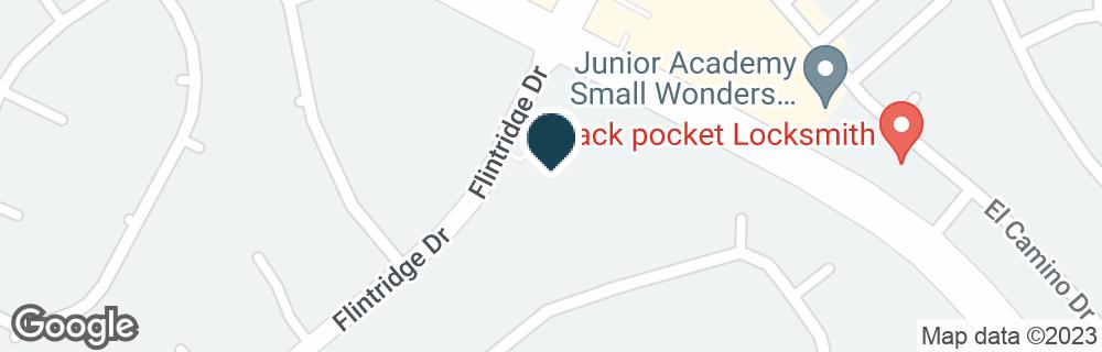 Google Map of4713 FLINTRIDGE DR