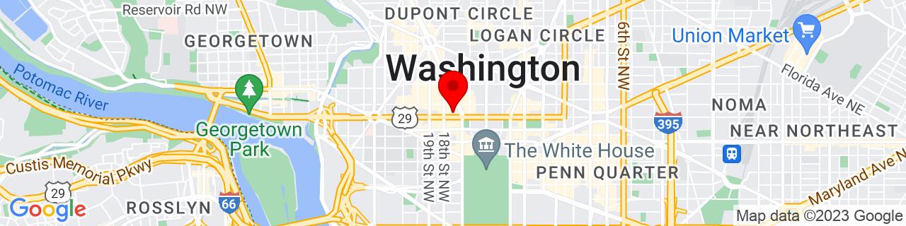 Google Map of 38.9029421, -77.04061469999999