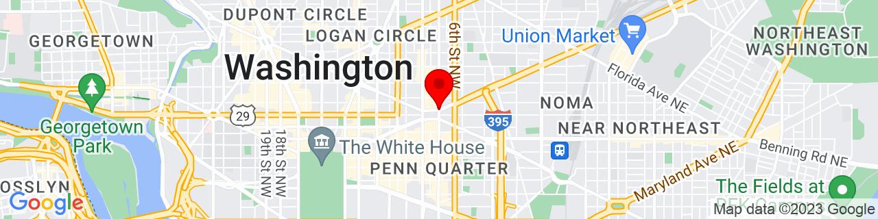 Google Map of 38.9030072, -77.02187300000001