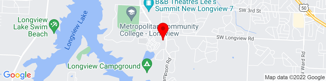 Google Map of 38.9040055, -94.44312479999999