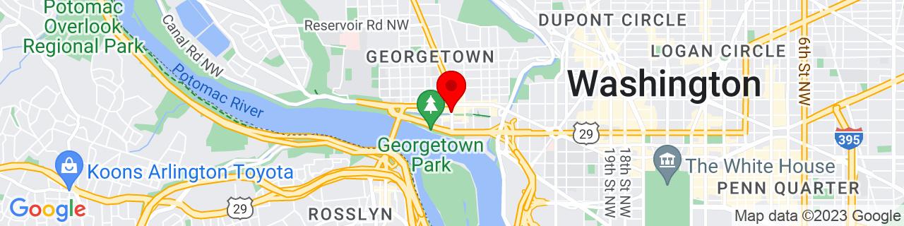 Google Map of 38.9044143, -77.0628218