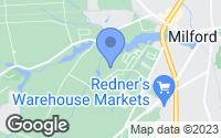 Map of Milford, DE