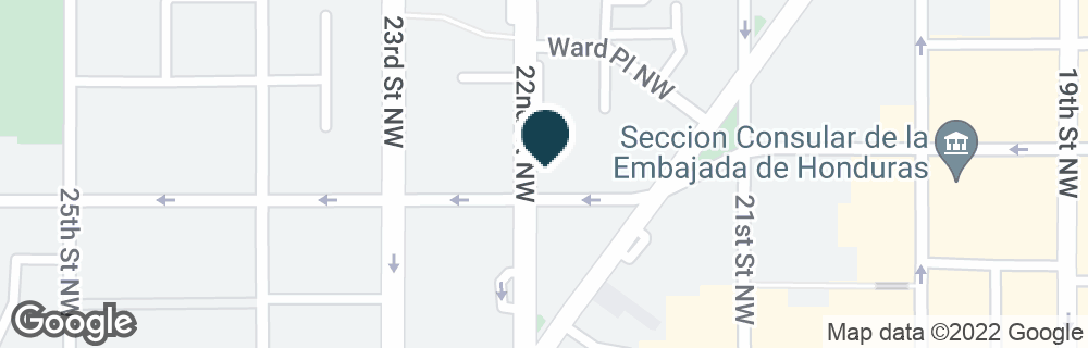 Google Map of1217 22ND ST NW