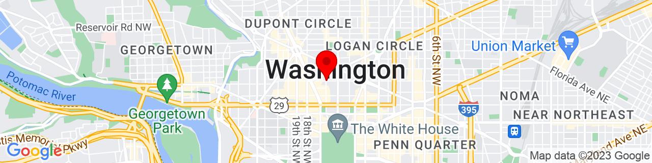 Google Map of 38.90564432551041, -77.03848829999998