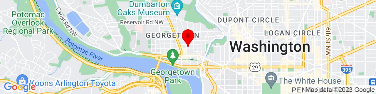 Google Map of 38.907078, -77.060892