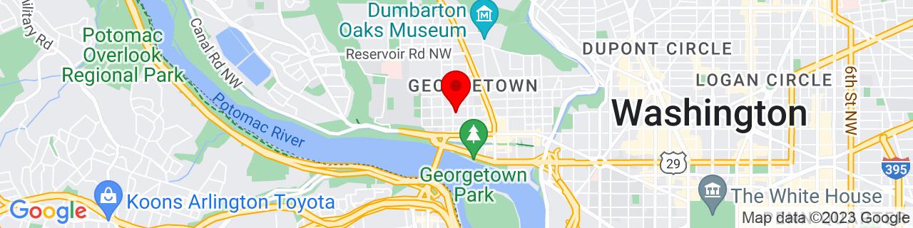 Google Map of 38.90710199999999, -77.06745599999999