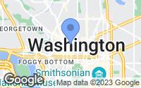 Map of Washington, DC