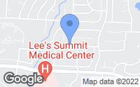Map of Lee's Summit, MO