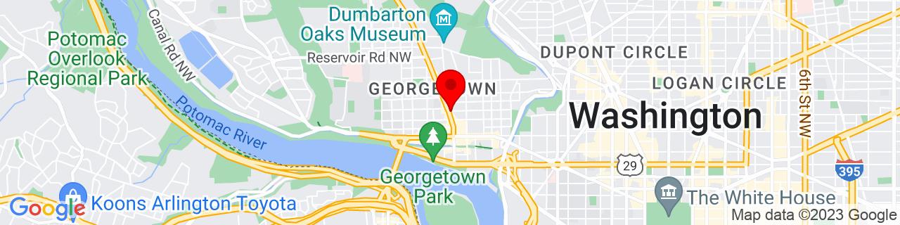 Google Map of 38.9075005, -77.06319909999999