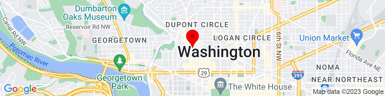 Google Map of 38.9080535, -77.044522