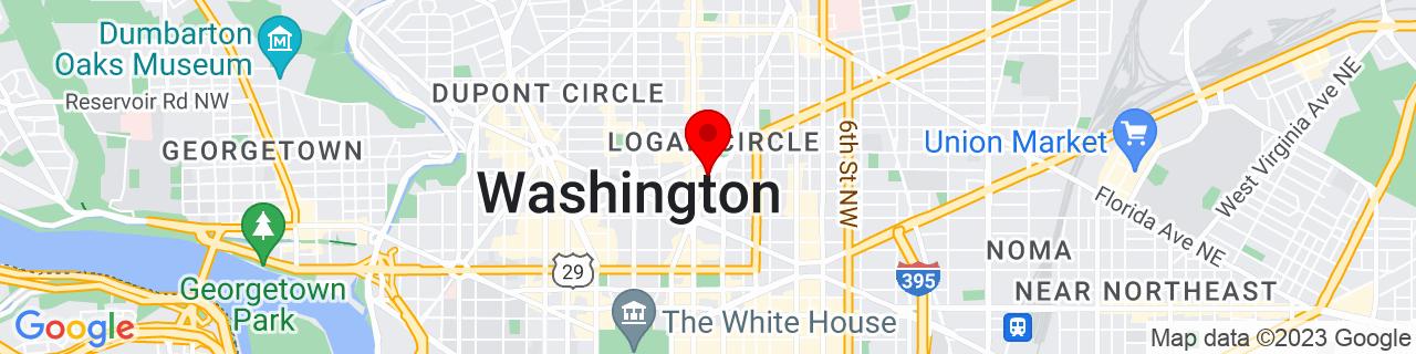 Google Map of 38.9081746, -77.0308115