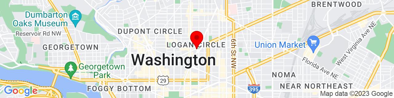 Google Map of 38.9092768, -77.03016889999999
